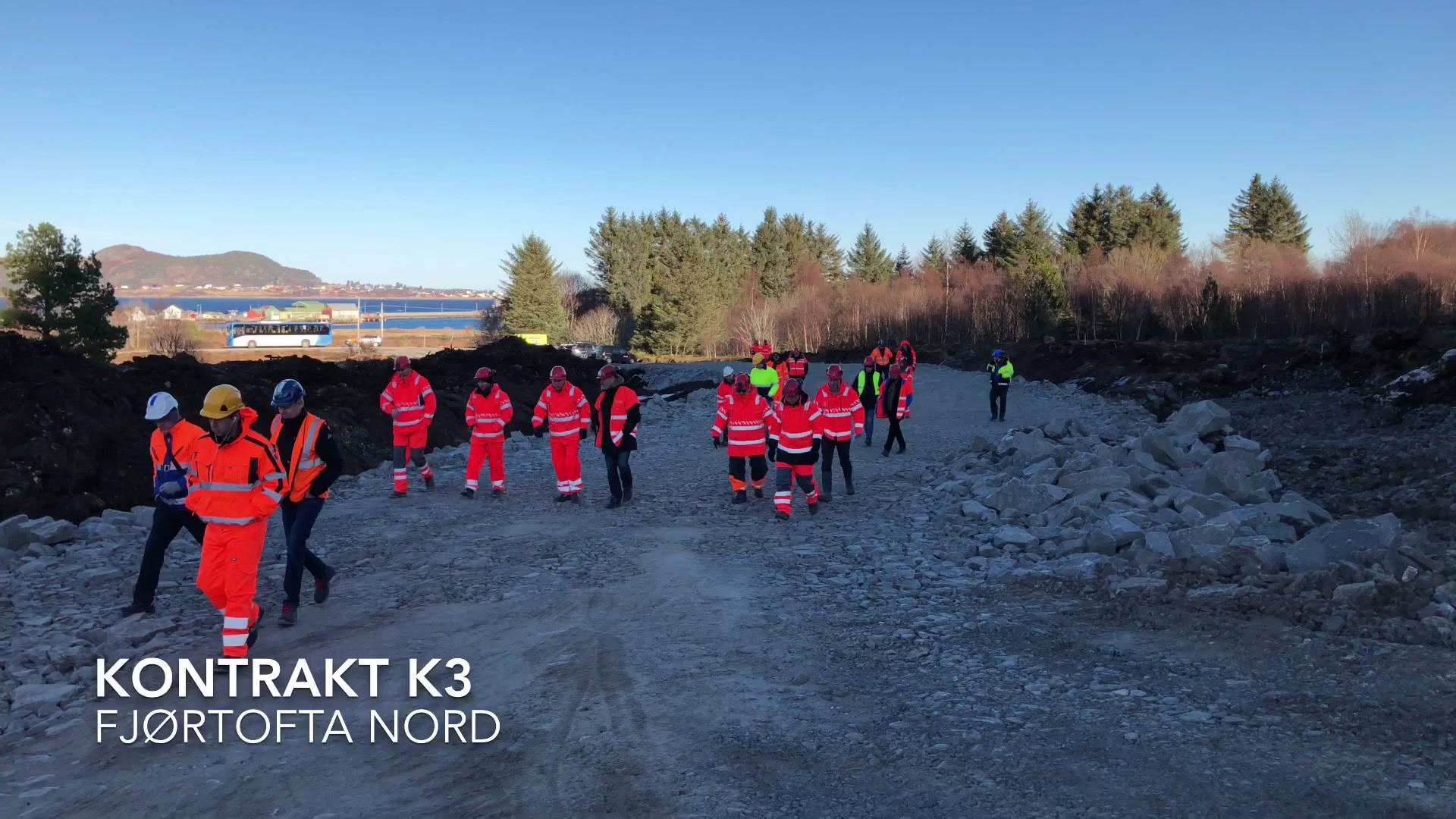 Mange vil ta del i bygginga av Nordøyvegen