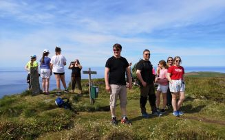 Over 500 til fjells for å  markere vindkraftmotstand