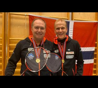 God badmintonhelg for både talent og veteran