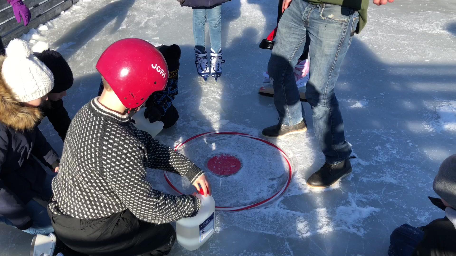 Skøyteis i ballbingen
