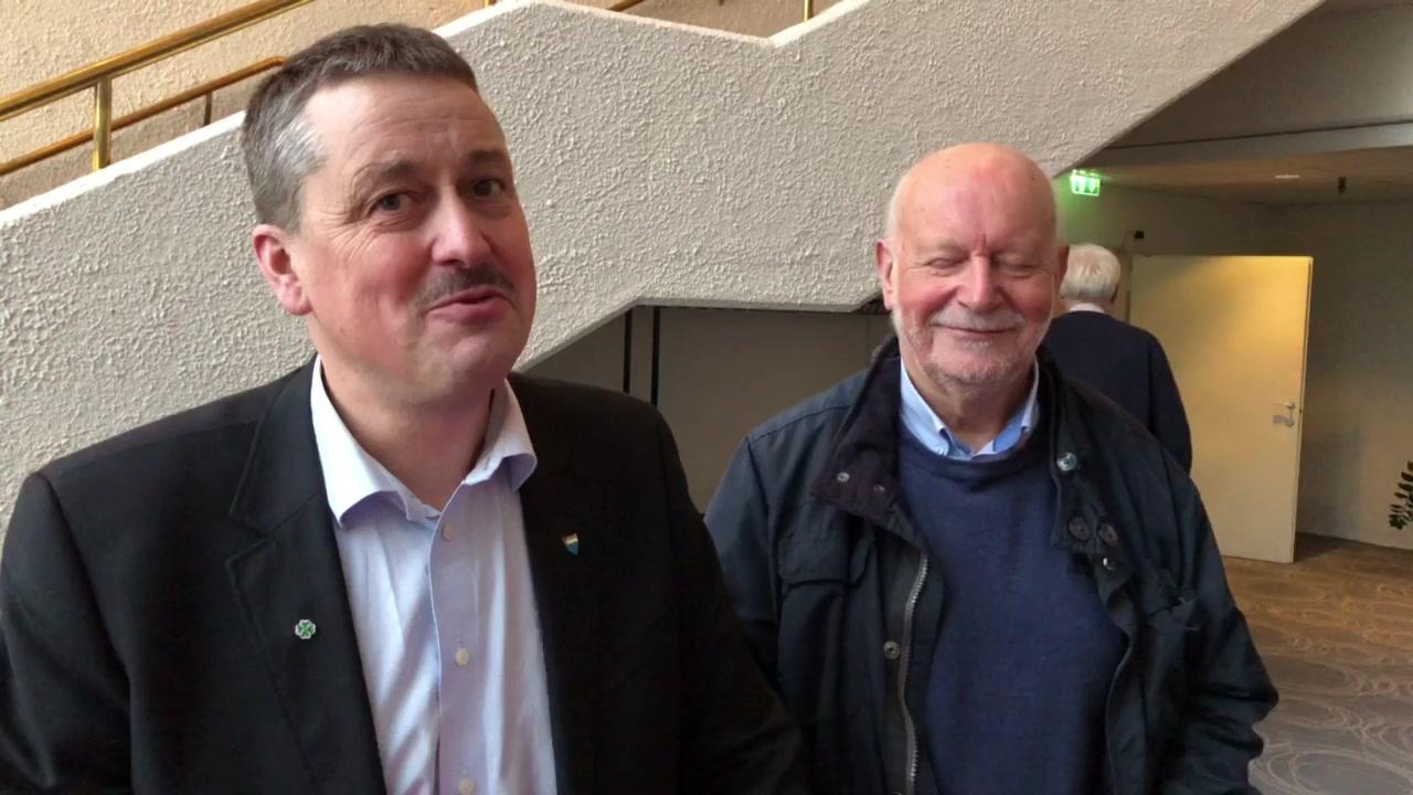 Vebjørn Krogsæter og Oddbjørn Vatne.
